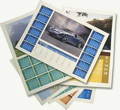 Kalender erstellen mit der Vollversion von Calendar Designer PRO - kostenlos