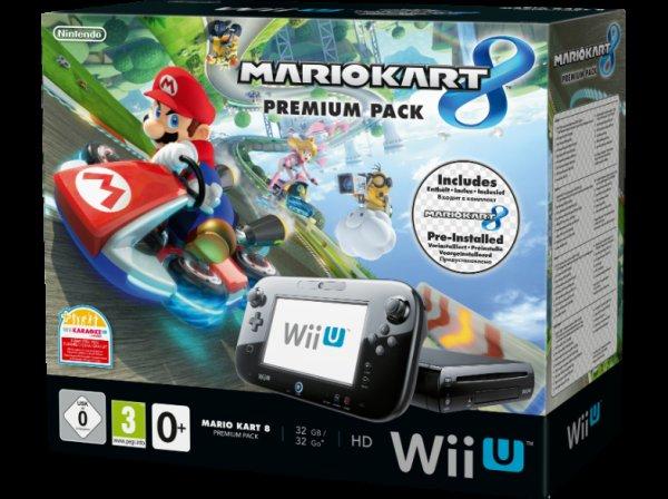 NINTENDO Wii U Mario Kart 8 Premium Pack incl. Yoshis Wolly World @Saturn