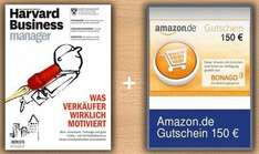 Prämienabo - Harvard Business Manager mit 150€ Amazon.de Gutschein