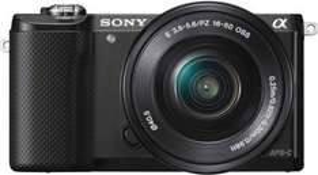 Sony Alpha 5000 Kit 16-50 mm schwarz bei Saturn.de