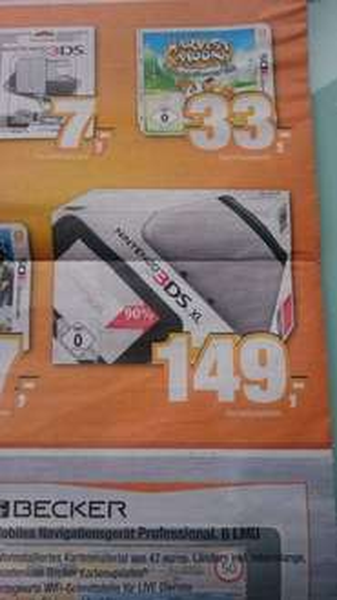 Nintendo 3DS XL lokal bei Expert Bening 149€