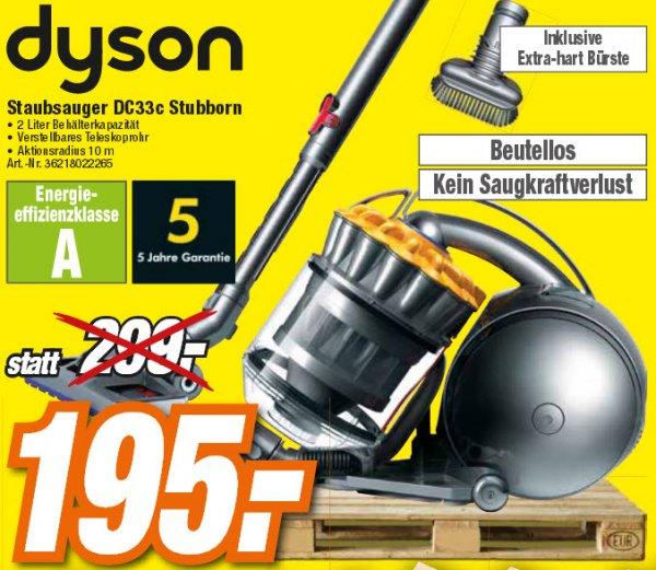 [LOKAL][HEM Expert] Dyson Staubsauger DC33c Stubborn für 195 €
