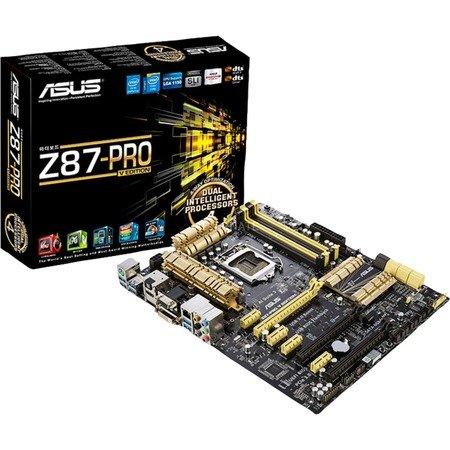 "ASUS Mainboard 1150 ""Z87-PRO(V EDITION)"" für 79,90€ @ ZackZack"
