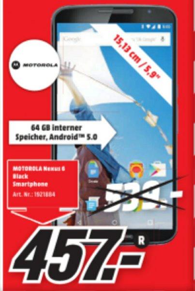 Lokal MediaMarkt Ravensburg Angebote z.B. Nexus 6 64GB für 457€