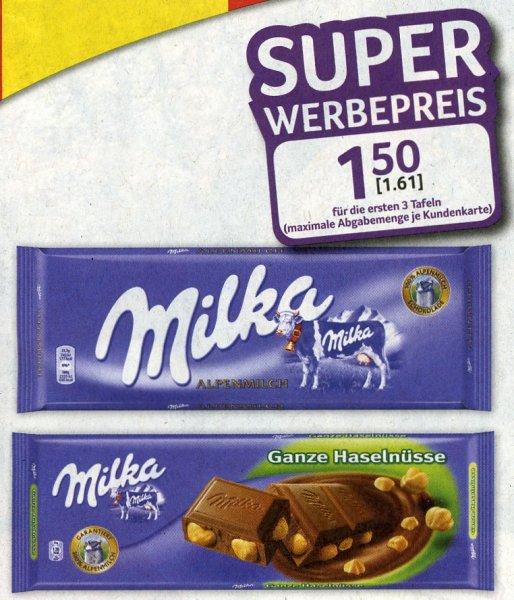 [Selgros] Milka Großtafel 250 / 300 g - € 1,61 - max. 3 pro Kundenkarte