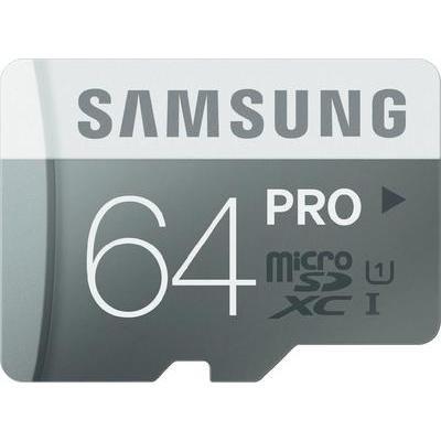 microSDXC-Karte 64 GB Samsung Pro Class 10, UHS-I - 29,44 bei Conrad mit NL Gutschein