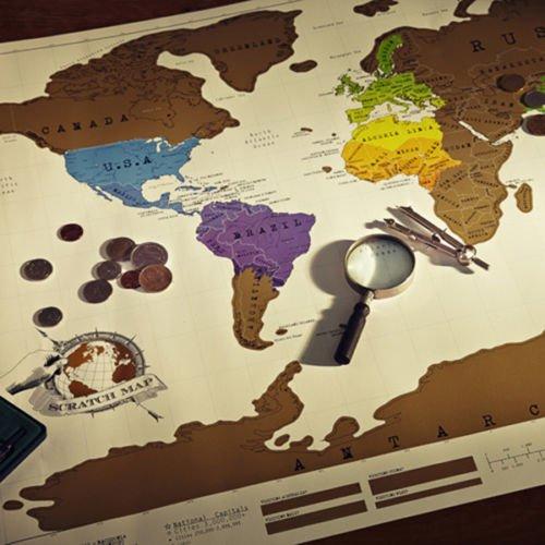 [eBay/Aliexpress] Scratch Off World Map (Rubbelkarte) ca. 50% günstiger