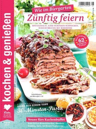 """Jahresabo der Zeitschrift """"Kochen & Genießen"""" zum Abopreis von 34,80€ mit diversen 25,00€ Gutscheinen"""