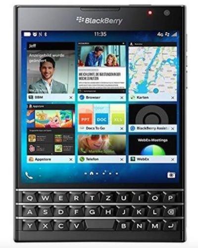 BlackBerry Passport Schwarz
