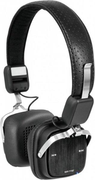 OMNITRONIC SHP-777BT Bluetooth-Kopfhörer schwarz/grau
