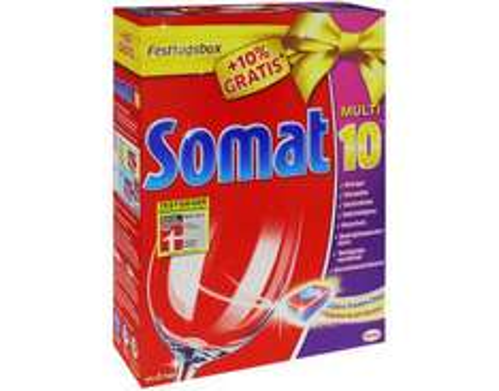 Somat 10 Spülmaschinen Tabs (98 Stück) für 12,99€ @Allyouneed