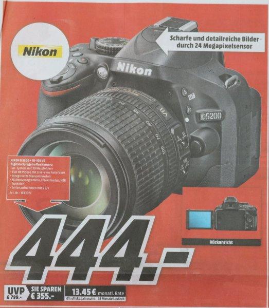 [Mediamarkt Dessau] Nikon D 5200 + 18-105VR SCHWARZ