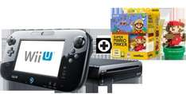 [MM CH - Vorbestellung] Nintendo Wii U Premium Pack Black inkl. Super Mario Maker & amiibo Mario