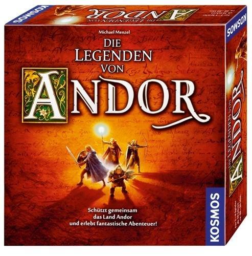 Einige günstige Brettspiele bei Thalia, z.B. Die Legenden von Andor für 21,12€ oder Dominion für 16€