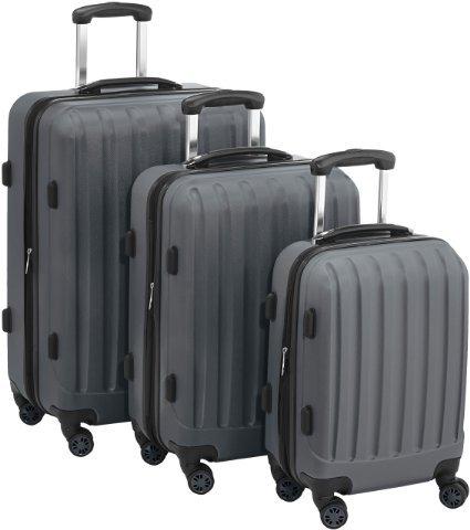 Packenger Premium Hartschalenkoffer-Set mit TSA-Schloss (Anthrazit-Grau oder Dunkelblau) für 103,64€ inkl. Versand,@ Amazon.de