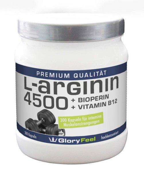 WIEDER DA: [Amazon Prime] L-Arginin 4500 inkl. Bioperin & Vitamin B12 für 9,99€