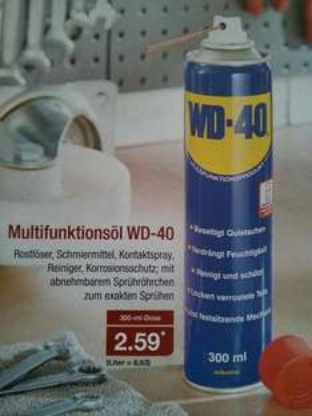 [offline] WD-40 300 ml @ Aldi Nord