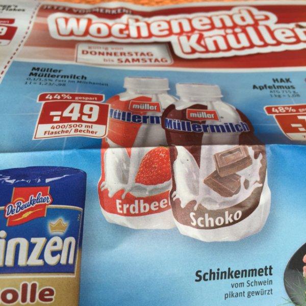 [Kaufpark] Müllermilch verschiedene Sorten für 49 Cent