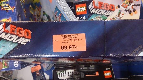 [Toys r us - offline] Lego 70816, Playmobil 5134