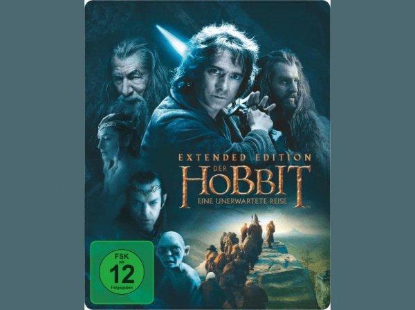 [Saturn Online] Der Hobbit: Eine unerwartete Reise - Extended Edition (Steelbook) für 9,99€