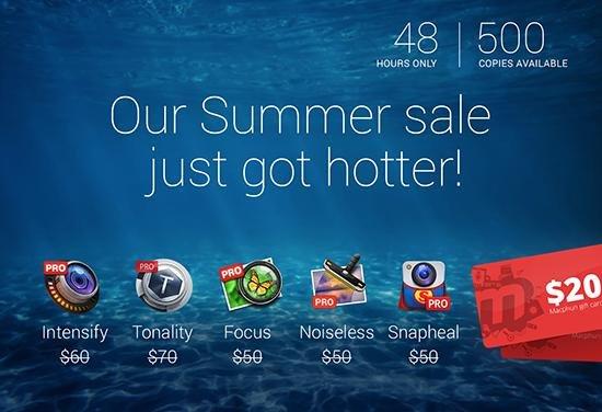 {MAC} MacPhun Creative Kit Plus mit 5 Apps für 99,99€ inkl 20€ Voucher - statt 280€