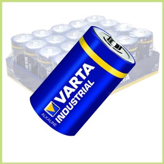 [Amazon-Marktplatz] Batterie Varta Baby 4014 Industrial in 20er-Folie mehrfach Kauf möglich nur einmal VsK.