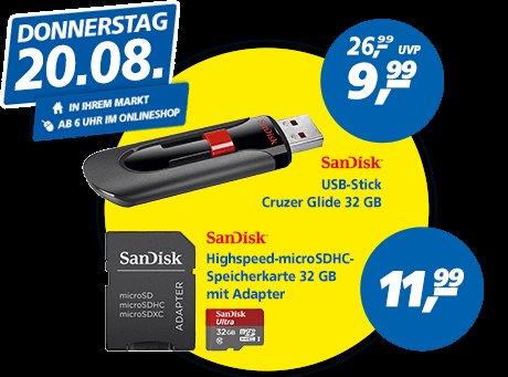 [Real Online/Offline 20.08] SanDisk Cruzer Glide 32GB