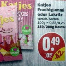 [NP Markt & MARKTKAUF] Katjes Fruchtgummi oder Lakritz für 0.49€