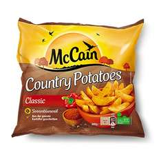 [REWE] 2x McCain Country Potatoes 600g für 1,59€ = 0,79€/Pack (Angebot+Coupon)