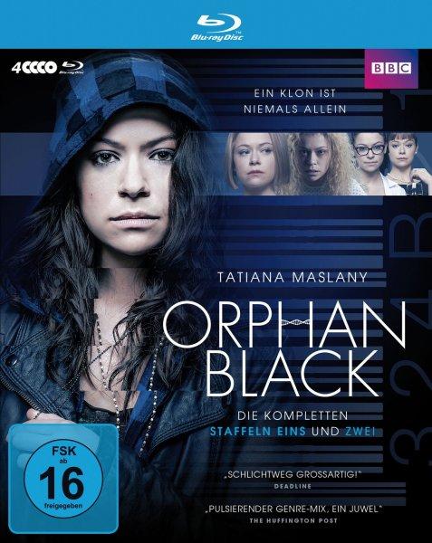 Orphan Black - Die kompletten Staffeln 1&2 (Limited Edition, 4 Discs) Blu-ray für 14,99€ @Mueller.de
