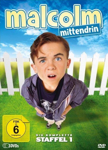 Amazon-Malcolm Mittendrin-Die komplette Staffel 1 [3 DVDs] Prime:10,97€ | Sonst:13,97€
