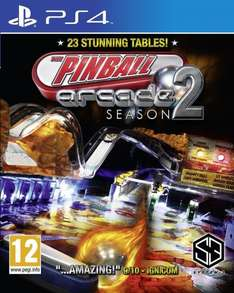 Pinball Arcade Season 2 für PS4 (Retail-Version) bei amazon.fr