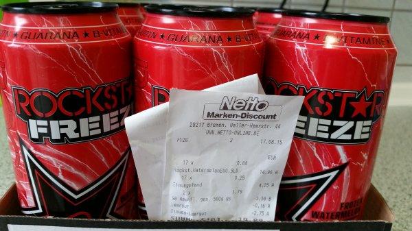[Netto ohne Hund] ROCKSTAR Energy Drink - Verschiedene Sorten 0,88€