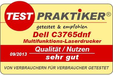 High End Farblaser/Colorlaser zum Home-Office Preis! Dell C3765dnf - Professioneller 4-in-1 Farblaser-Multifunktionsdrucker mit Duplex, LAN und vielem mehr