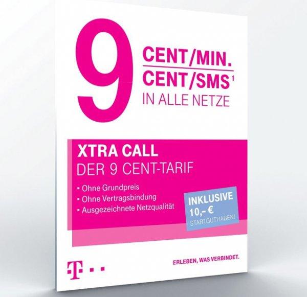 Telekom Xtra Card Prepaid - 10€ Startguthaben inkl. - PSN fähig