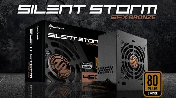 """Sharkoon Netzteil 350W """"SilentStorm SFX"""" Bronze für 39,99 €, versandkostenfrei bei @ZackZack"""