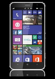 Nokia Lumia 1320 black & white