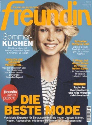 """Jahresabo (26 Ausgaben) der Zeitschrift """"Freundin"""" für 67,40€ mit 65,00€ Gutschein – Effektivpreis: 2,40€"""