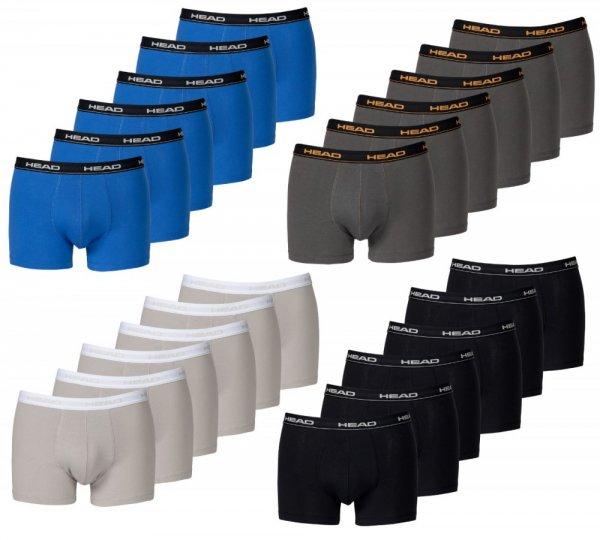 HEAD Basic Boxershorts 8-Stück (weiß und grau) für 19,95€ @AllStarSport