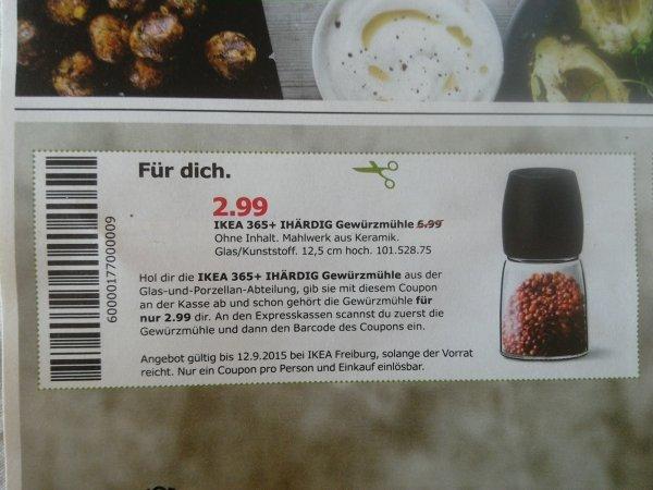 [lokal Freiburg?)]  IKEA Gewürzmühle 365+ Ihärdig für 2,99 mit Coupon