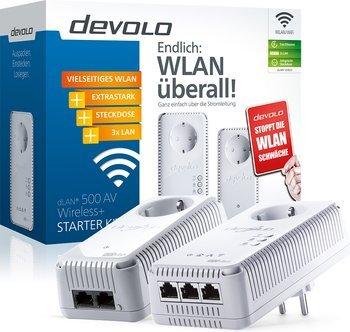 devolo dLAN 500 AV Wireless+ Starter Kit für 99,95 € @Telekom