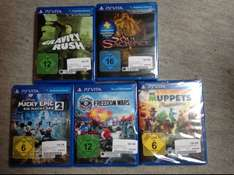 Gravity Rush, Soul Sacrifice, Micky Epic 2, Muppets, Freedom Wars PSVita 4,99€ und 8,99€ MM Gifhorn