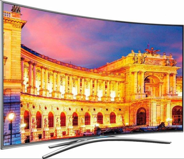 [Amazon] Hisense 55EC870 - Curved, 4K, 3D, SmartTV + Sero 8 Pro Tablet für 999€