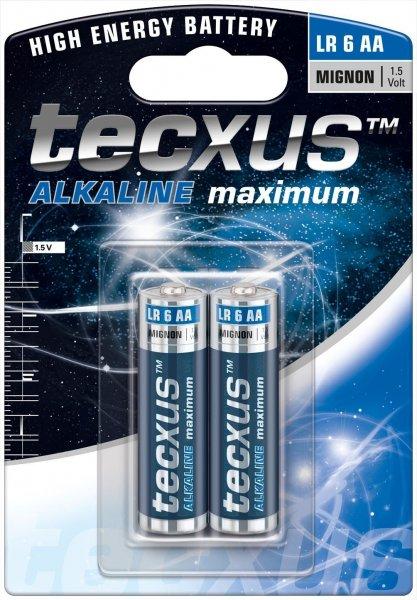 [Amazon-Marktplatz] 2 Batterien LR 6 2-BL tecxus