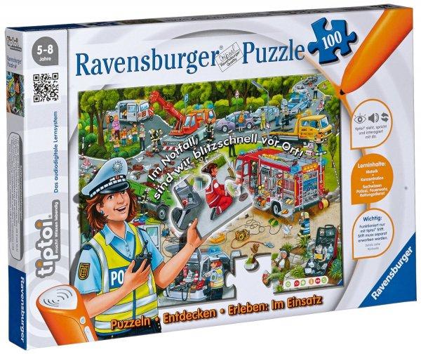 Ravensburger™ - tiptoi: Puzzlen, Entdecken, Erleben: Im Einsatz (00554) ab €8,84 [@GetGoods.de]