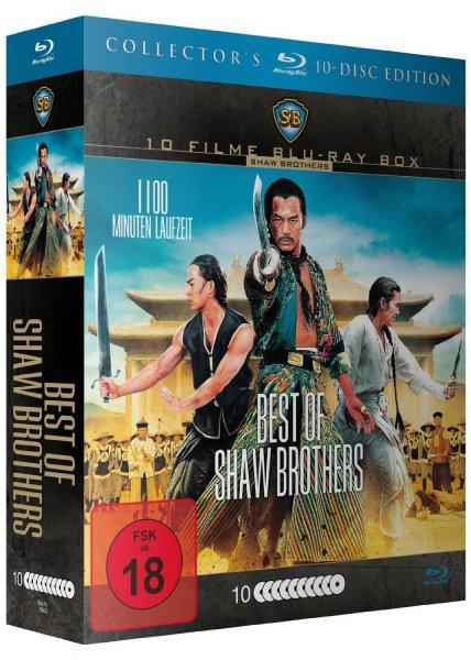 [Saturn.de] Shaw Brothers Mega Box - Best of Shaw Brothers - (Blu-ray) 10 Blu-ray Filme für 14,99 bzw. 19,98€ [Vorbestellung]