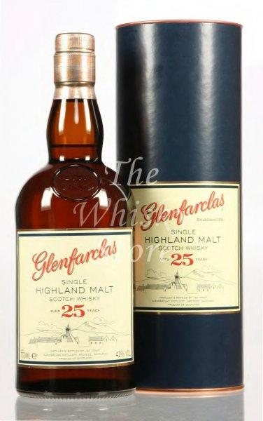 Glenfarclas 25 Jahre 0,7l für 72,78 € beim Kauf von 3 Flaschen bei springlane.de