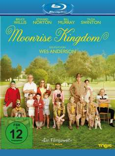 [Blu-ray] Wes Anderson BDs (Moonrise Kingdom, Darjeeling Limited...) @ Amazon (Prime)