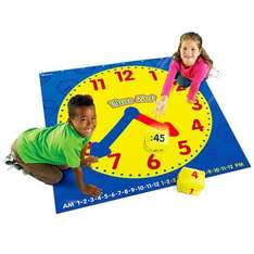 [Amazon-Prime] Learning Resources Bodenmatte Uhr