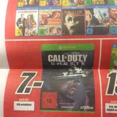 [Lokal Recklinghausen MM] Call of Duty Ghosts Xbox One und PS3